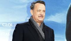 tom hanks tears up at opening night of nora ephron play
